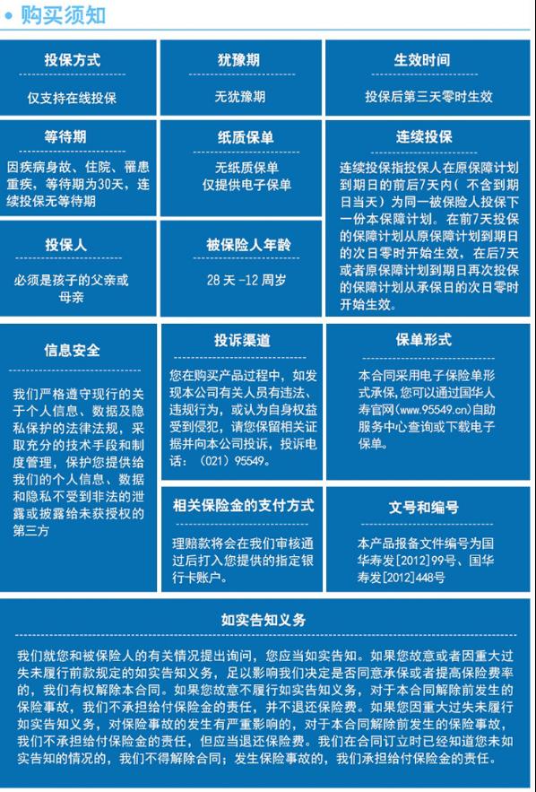 2018国华人寿淘气宝少儿门诊医疗保险怎么样?